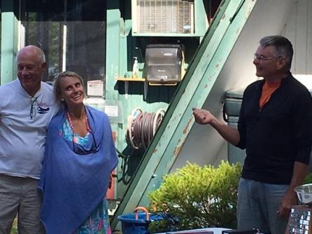 Stu, Kip, and Andrea